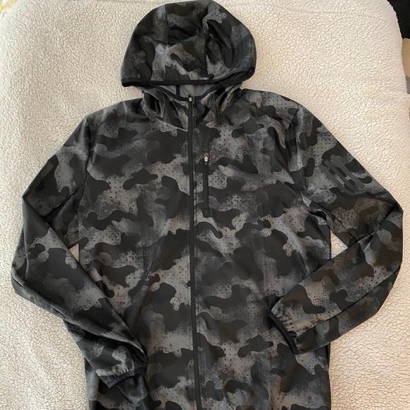 Adidas Full ZIP Camo Windbreaker Jacket